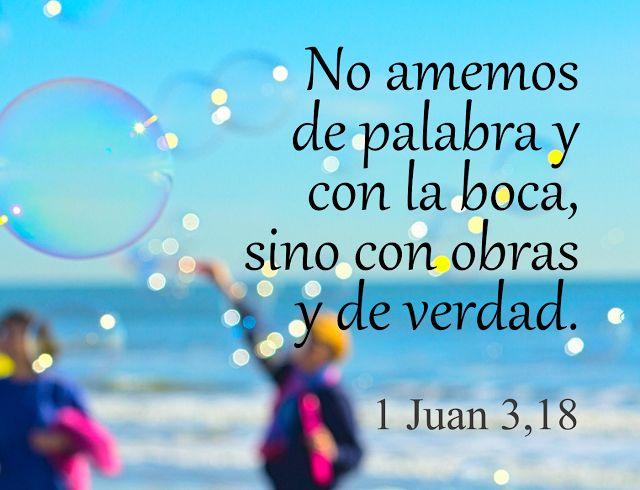 1 Juan 3,18