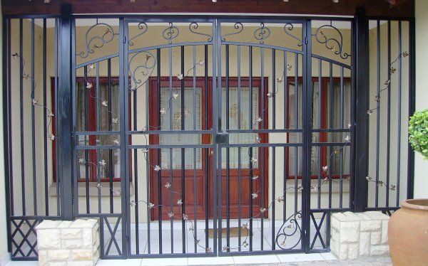 A custom #security gate can increase the value of your property