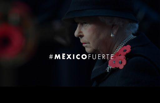 La Reina Isabel II expresa sus condolencias por sismo en México