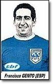 Gento.  en la temporada 1963-64. Partido FIFA Resto del Mundo frente a Inglaterra.