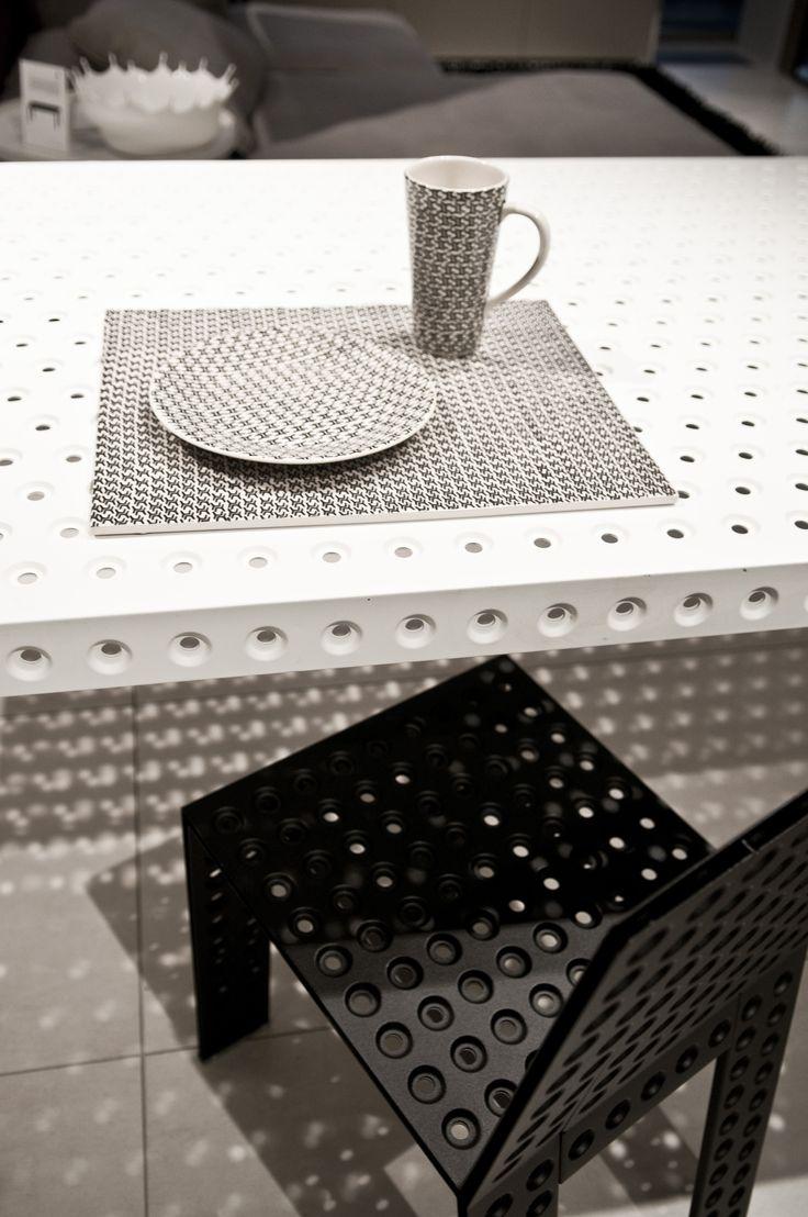 pattern designed by Oskar Zieta  table: https://shop.zieta.pl/pl,p,27,100,_table.html  chair:  https://shop.zieta.pl/pl,p,27,96,_chair.html