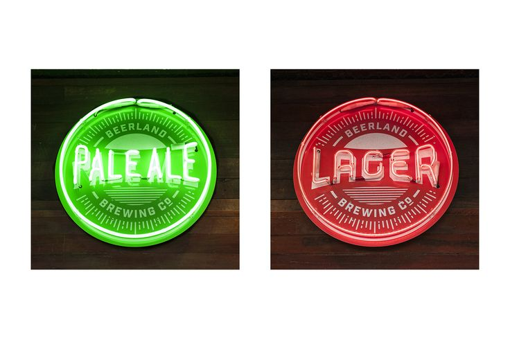 Brewing company, branding and signage | Dessein