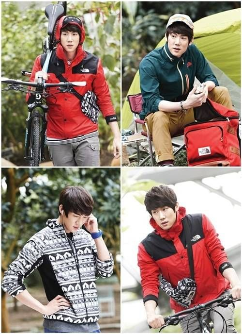 Yoo Yun Suk goes on an outdoor adventure for 'The North Face' | allkpop.com