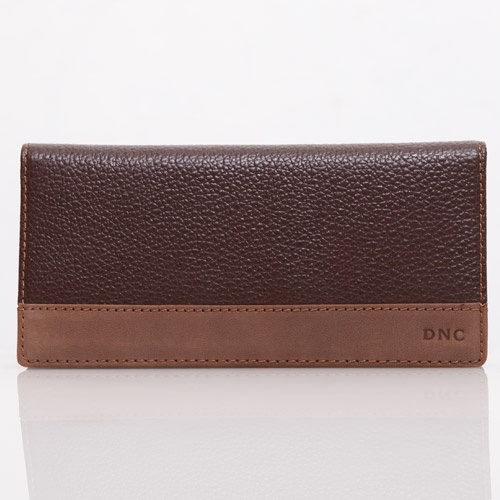 Brown Milling Leather Wallet - DNC   IDR 175.000