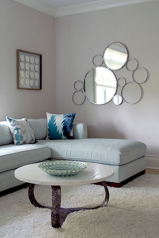 A clump of mirrors house of turquoise mabley handler interior design