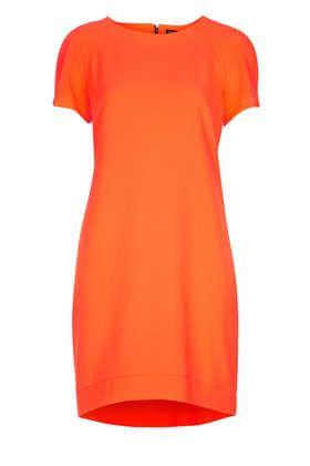 Petite Crepe Tee Shift Dress - Petite  - Clothing