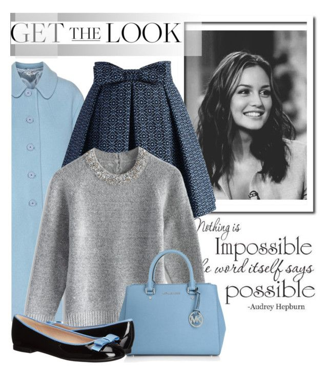 """""""Blair Waldorf..."""" by glamorous09 ❤ liked on Polyvore featuring Miu Miu, Chicwish, Michael Kors, Furla, women's clothing, women, female, woman, misses and juniors"""