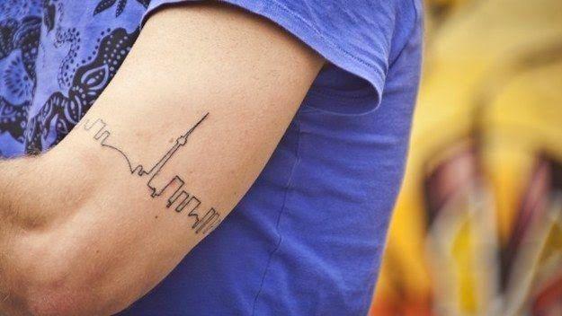 43 Tatuajes de paisajes inspiradores | Belagoria | la web de los tatuajes