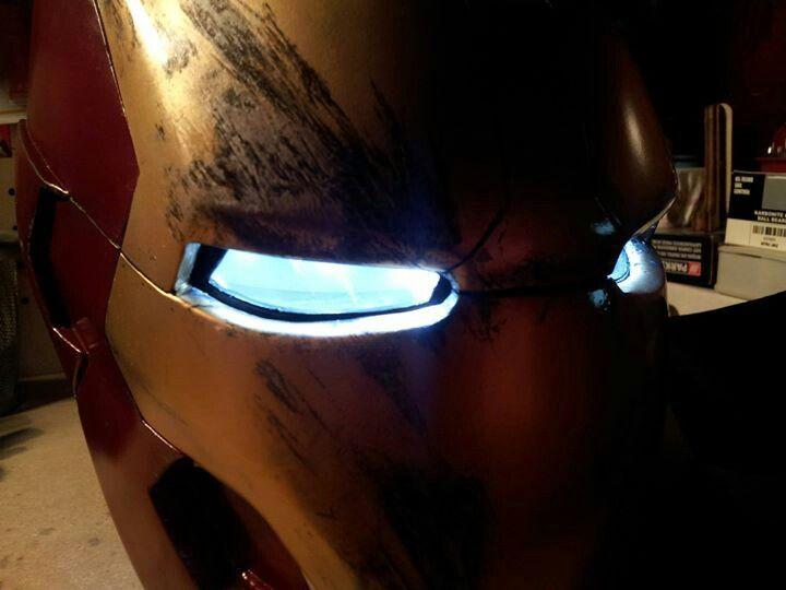 Iron Man MK43 helmet