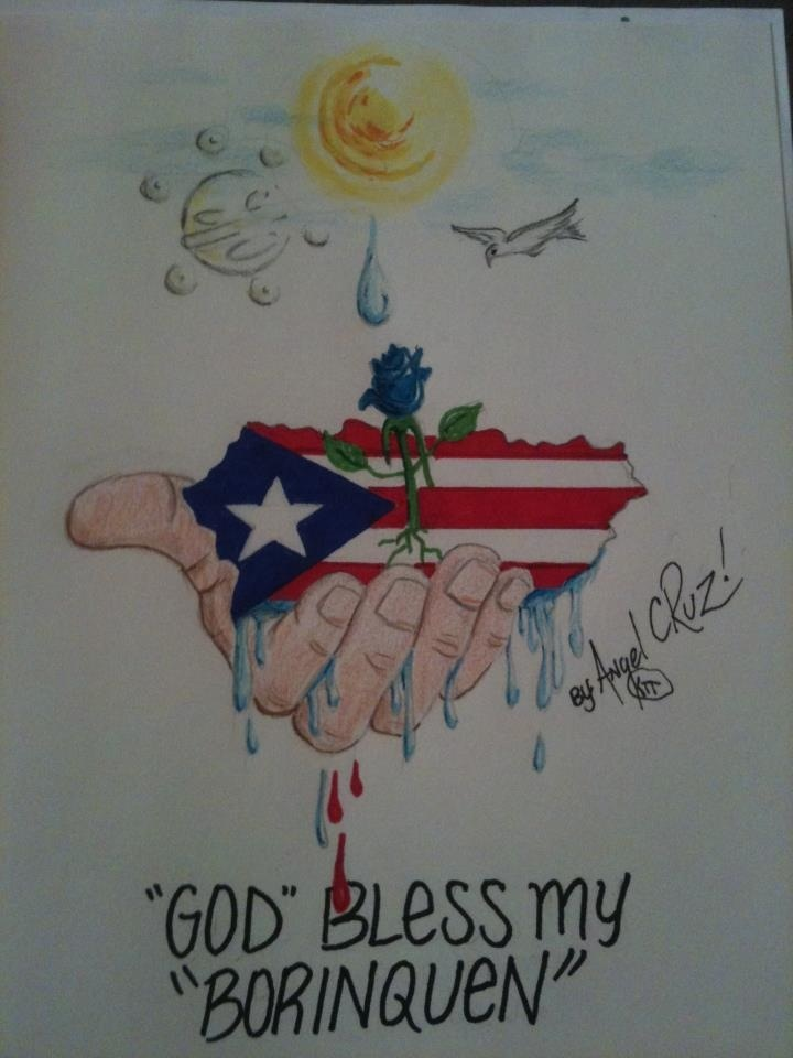 Puerto RicoGod Bless my Borinquen By June