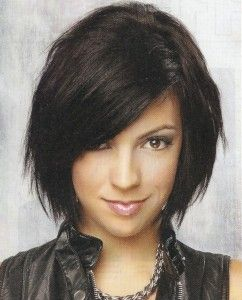 Cute cut! Medium Hairstyles for women:Casual Hairstyles | TheHairStyler.com