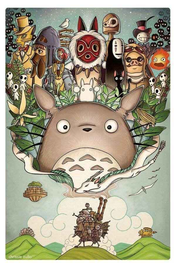 Totoro y sus amigos.