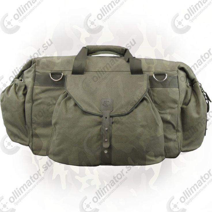 Охотничья сумка Acropolis OСБ-1 из брезента - купить сумку 57 литров с плечевым ремнем