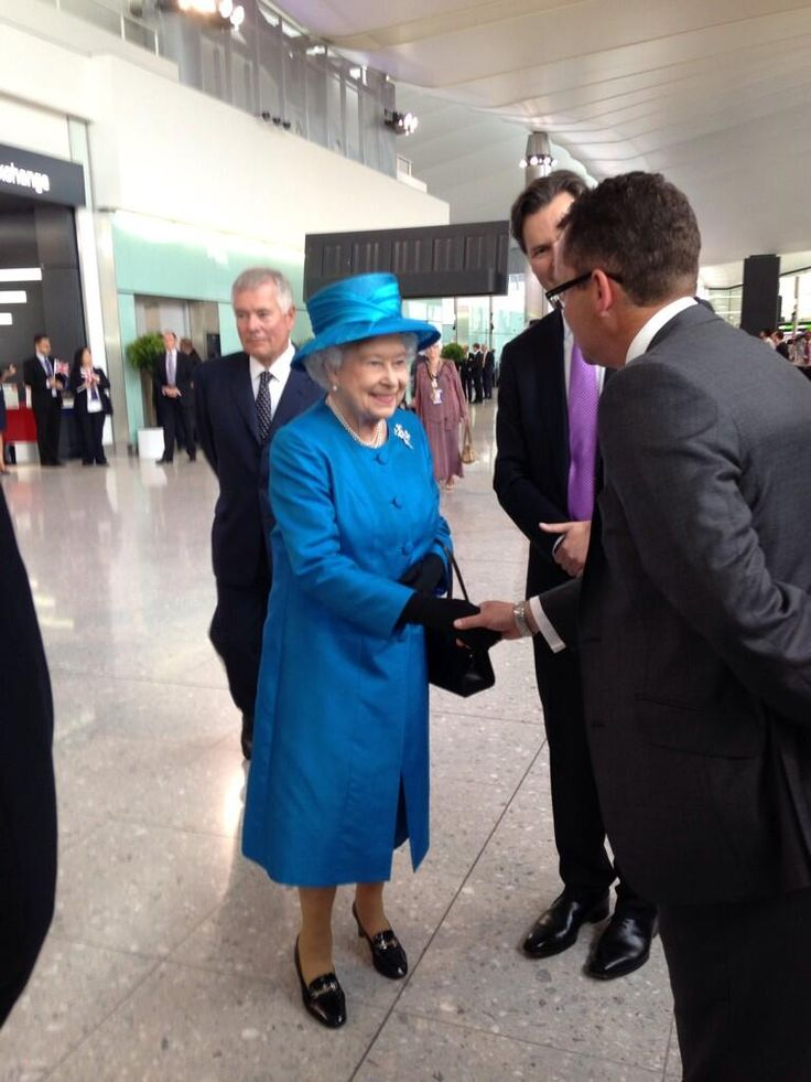 We are honoured to welcome Her Majesty the Queen at Heathrow to officially open the new Terminal 2!