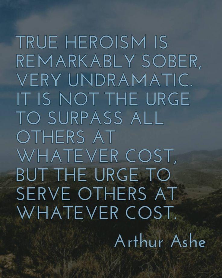 Arthur Ashe.