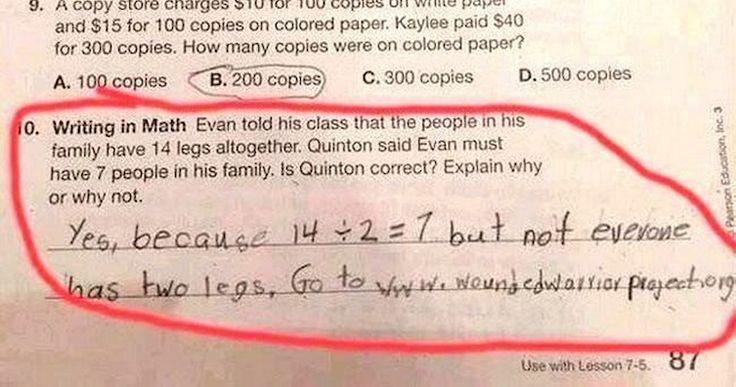 Clever children!