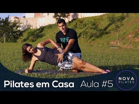 Pilates em Casa - Aula Nº5 - NÍVEL INICIANTE - YouTube