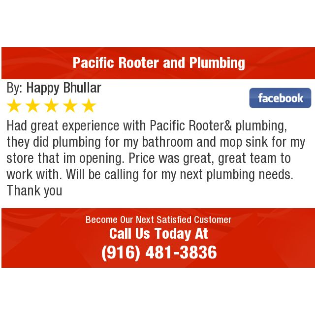 Had Great Experience With Pacific Rooter Plumbing They Did Plumbing For My Bathroom And Dental Reviews Dental Chiropractic Clinic