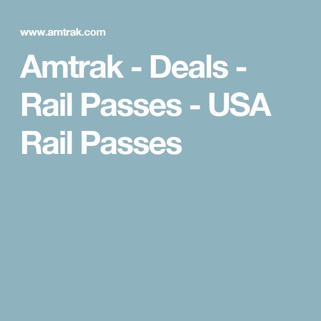 Amtrak - Deals - Rail Passes - USA Rail Passes