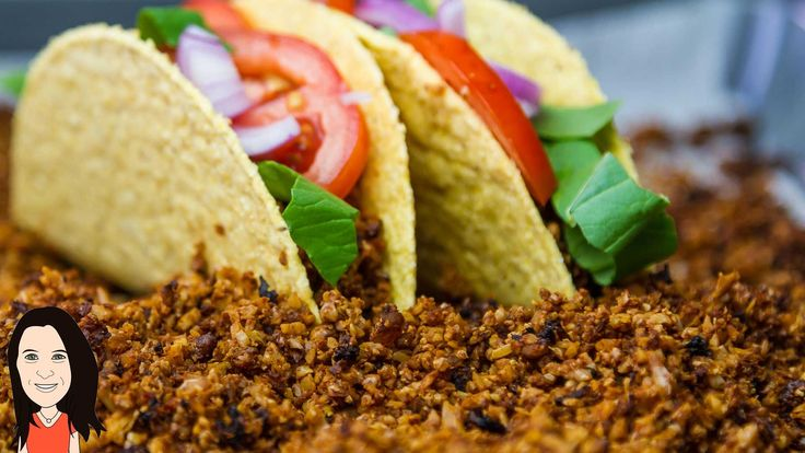 Vegan Ground Beef Recipe - use for Taco meat, bolognese, pizza etc
