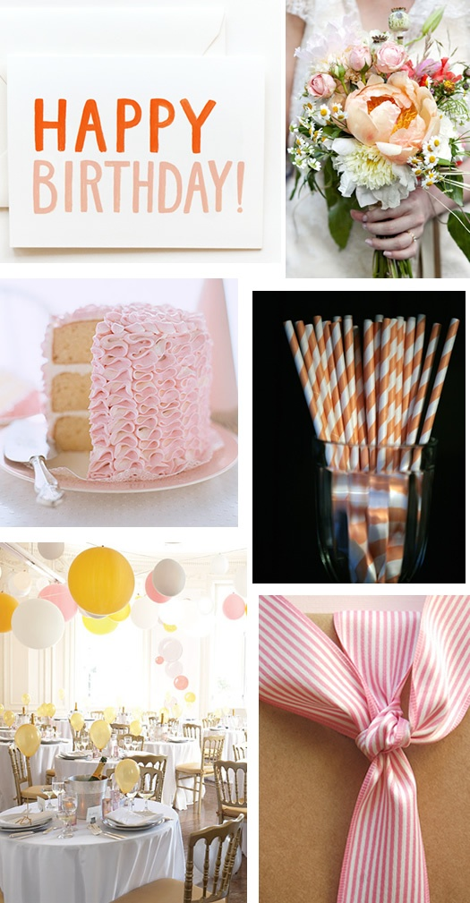 LOVE the cake- what a pretty frosting idea!