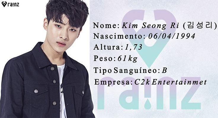 Kim SeongRi vocal principal do Raiz e ex participante do reality #Produce101