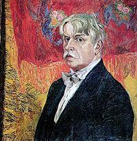 Alexandr Golovin, Self-portrait