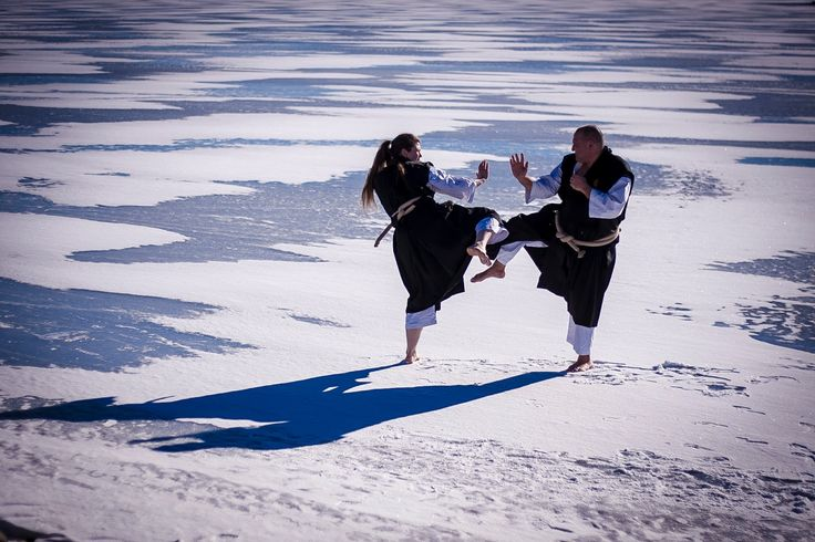 Finnworld: Shorinji Kempo Embu on Ice