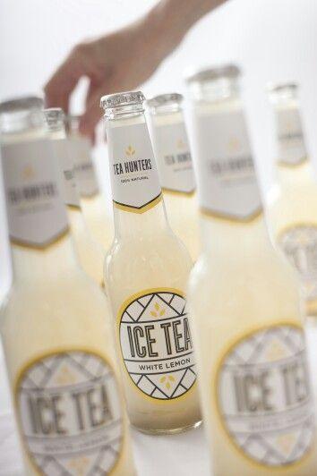 Taste Adventure with White Lemon 100% natural craft ice tea, bottled in glass :)