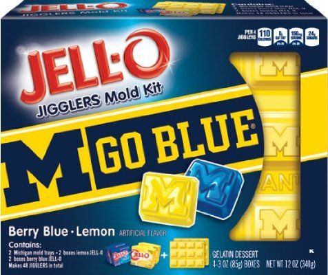 JELL-O University of Michigan Mold Kit, 12 Ounce:Amazon:Grocery & Gourmet Food