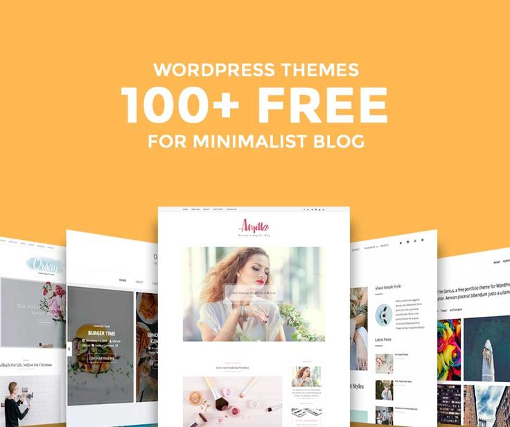 The Biggest and Best Free WordPress Themes Ever Compiled of 2017 #wordpressblog