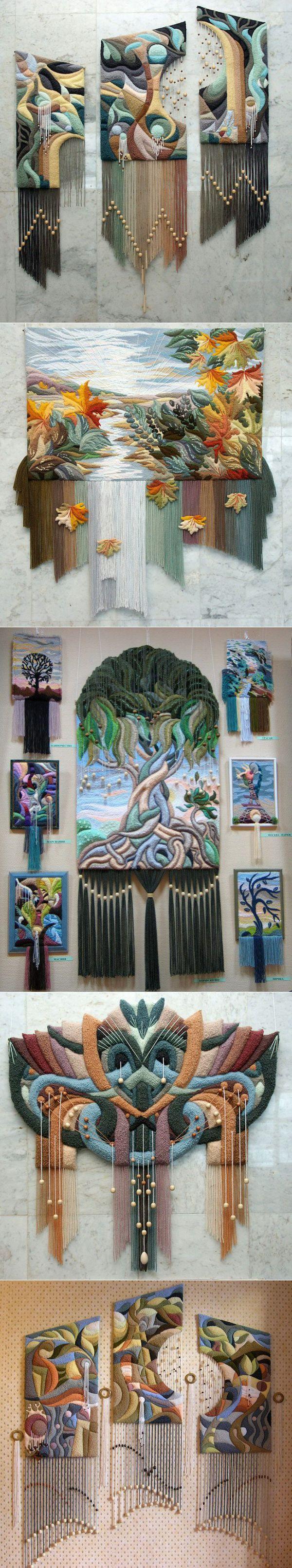 Stunning three-dimensional tapestries / I - superpuper