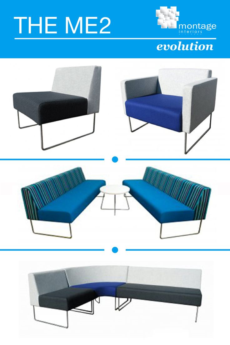 The ME2 is a stylish chair that comes in a variety of options to best suit your collaborative office spaces.