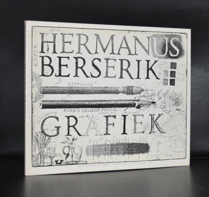 Hermanus Berserik # GRAFIEK # 1981, 60ste verjaardag, mint-