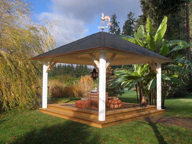 pavillon selber bauen im orientalischen stil