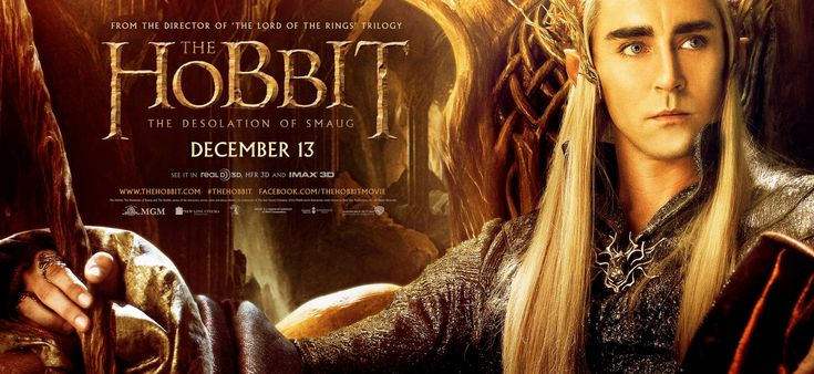 Mega Sized Movie Poster Image for The Hobbit: The Desolation of Smaug