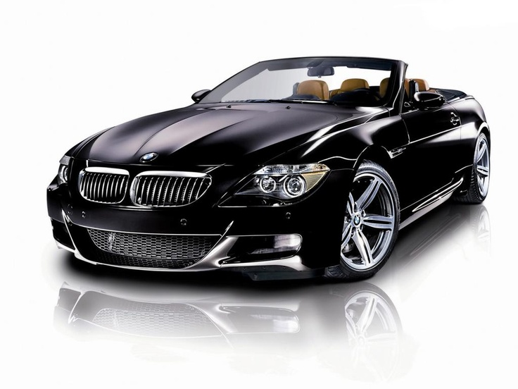 BMW M-6 Convertible. My car, but I'll let him drive it ♥