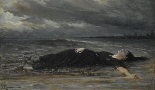Constantin Meunier - Ophelia