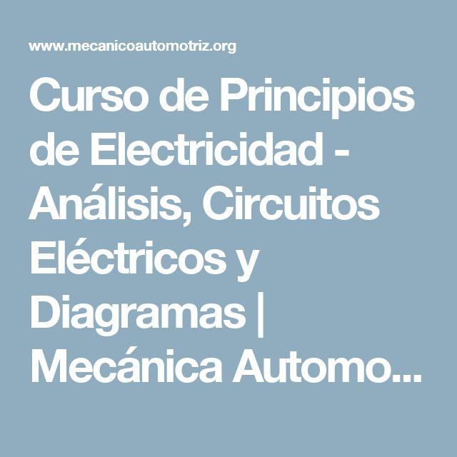 Curso de Principios de Electricidad - Análisis, Circuitos Eléctricos y Diagramas | Mecánica Automotriz