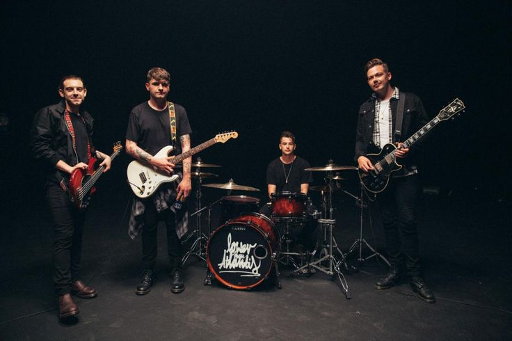 Want to see behind the scenes of Lower Than Atlantis' new video? Of course you do.