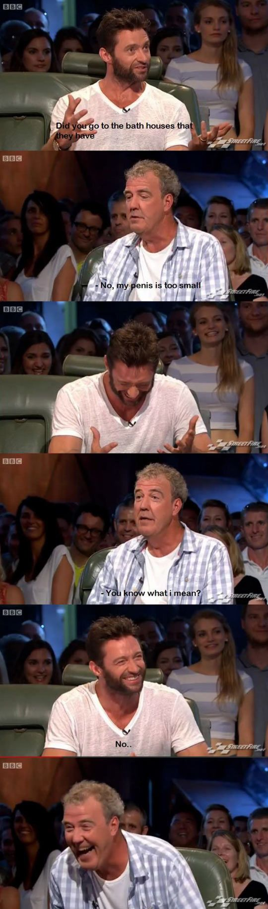Jeremy Clarkson  & Hugh Jackman Top Gear Interview Classic