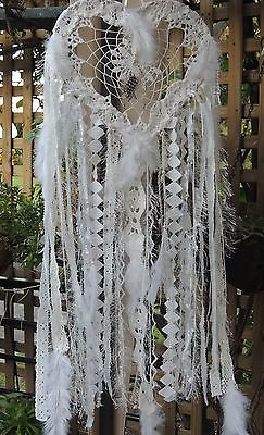 dream-catcher-Shabby-Chic-stunning-white-heart-34cm