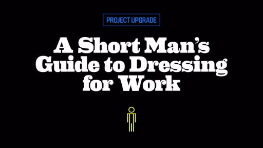 A Short Man's Guide to Wearing a Suit