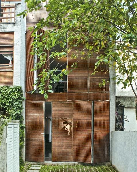#facade #screen #wood