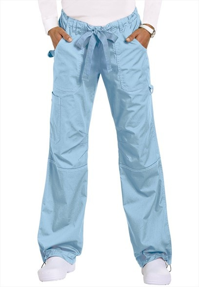 Best scrub pants ever. Double stiched and plenty of pockets and oh so comfy. Koi Lindsey cargo