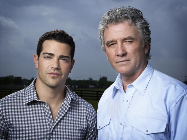 Jesse Metcalfe as Christopher Ewing and Patrick Duffy as Bobby Ewing in the new #Dallas. via thestar