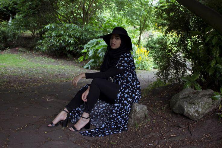 SAIMA CHOWDHURY hijab with hat