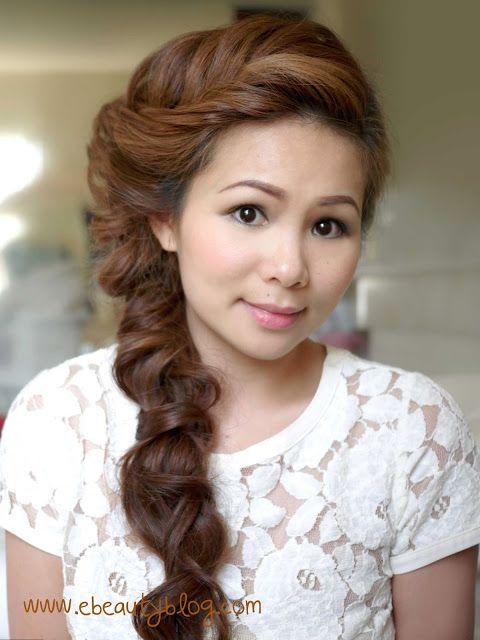 EbeautyBlog.com: Hair Tutorial: Romantic Fishtail Braid