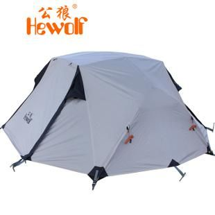 Hewolf Outdoor Camping 2 People Aluminum Storm Tent Tent Color:Khaki Weight:2.8kg Size:190cm*145cm*110cm 8 Man Tents Tents For Sale Nz From Yiluxiangsui, $59.2| Dhgate.Com