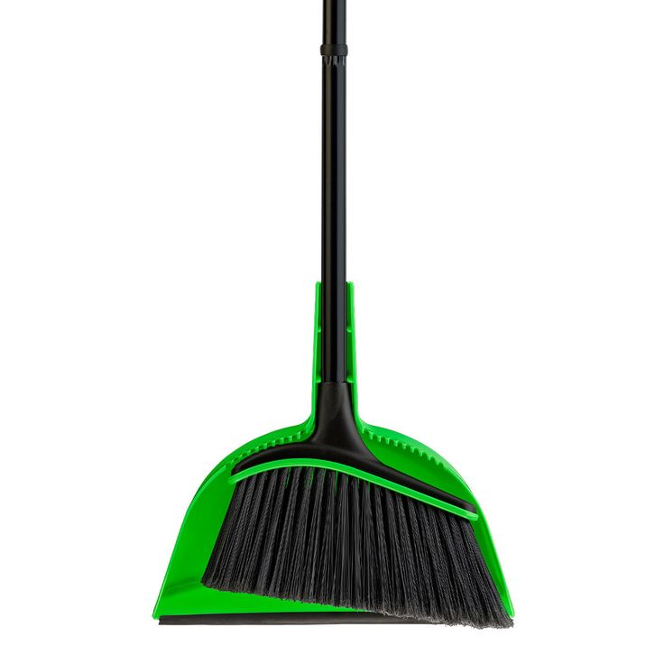 small broom dustpan set neon quickie 2 combo home depot